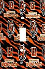 Cincinnati Bengals - Decorative Decoupage Light Switch Covers - Made To Order