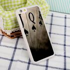 Poker Playing Cards Gamble Casino TPU Silicone Phone Case Cover For iPhone X 8