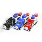 Kids Friction Power Toy Truck Transporter Van with 4 Cars Children Gift Colors