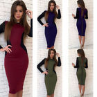 New Women OL Office Formal Wear Work Business Evening Party Career Dress 6359O