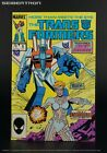THE TRANSFORMERS #9 1985 Marvel US G1 Comic Book with CIRCUIT BREAKER