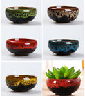ceramic plant pots planters pottery clay bonsai pots desktop decor FP142