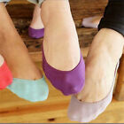 Women's Ladies Girl Shoe Liner Footsies Invisible Thin Boat Ankle Socks No Show