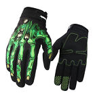 Men Touch Screen Skeleton Mittens Ghost Claw Gloves Racing Motorcycle Winter