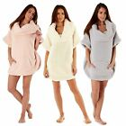 Poncho Jumper Ladies Soft Snuggle Fleece Bed Jacket Lounge Top Designer