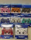 Official Sony Playstation 3 Ps3 Dualshock 3 Wireless Sixaxis Controller Colors