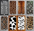 Various Animal Skin Phone Case Print Pattern Fur Design 5 SE 6 7 S6 S7 S8 + 619