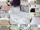 Luxury Soft Patchwork Quilted Embroidered Bed Spread Bed Throw & Pillow Case