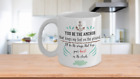 You Be The Anchor that Keeps my Feet on the Ground, I'll be the Wings coffee mug