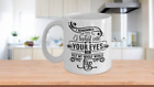 I Remember First Day I Looked into Your Eyes White Ceramic Mug 11, 15 oz