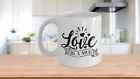 Love In A Mug Coffee Cup 11, 15 oz