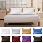 1Pc Pure Mulberry Silk Pillow Case Pillowcase Cover Housewife Queen Standard image