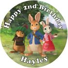 Peter Rabbit Premium Edible icing sheet  Cake Toppers Decoration