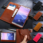 For Huawei Mate 10 Pro P9 Lite Mini Leather Protection Wallet Soft Cover Case