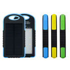 8000mAh Solar Chargers External Battery Pack and Solar Power Bank,Dual USB Port