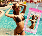US Waterproof Underwater Swimming Luminous Pouch Dry Bag Case For Cell Phones