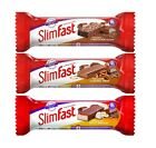 SlimFast Snack Weight loss Bar Caramel Chocolate Nougat 24 Bars