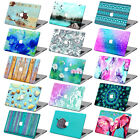 """Mint Painting Patterned Hard Case + KB Cover+SP for Macbook Air 11""""12""""Pro 13""""15"""""""