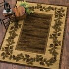 Mountain View Cabin Western Rug Various Sizes and Shapes with FREE Shipping