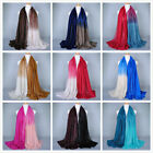 UK Ladies Women Soft Long Large Scarf Wrap Shawl Stole Beach Sarong Party Gift
