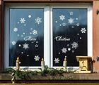 window snowflake stickers - Snowflake Stickers For Christmas Window Decals Sticker Xmas Wall Decoration NEW