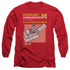 Star Trek Owner's Workshop COMMUNICATOR MANUAL Long Sleeve T-Shirt S-3XL on eBay