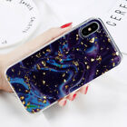 For Apple iPhone X Luxury Bling Glitter Foil Dirtproof Soft TPU Gel Case Cover