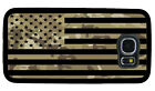 USA FLAG MILITARY CAMO PHONE CASE FOR SAMSUNG NOTE & GALAXY 4 S5 S6 S7 S8 S9 S10