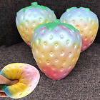 10CM Rainbow Simulation Strawberry Toy Slow Rising Soft Kid Toy New