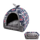 Flag Pattern Small Dog House Winter Cat Bed Foldable Puppy Dog Bed For Chihuahua