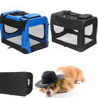 Waterproof Pet Dog Carrier Foldable Training Kennel Portable Soft Sided Cage