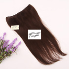 #4 medium brown Invisible Wire Hair Extension Halo Hair 80g 100g120g 170g 200g