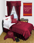 Virginia Tech Hokies L NCAA Bedroom with many options and FREE SHIPPING