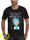 Rick and Morty T-Shirt,Piece of Sh** Spoof,American Anime,Adult and kids Sizes ■