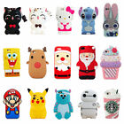 iphone 4 silicone case - Cute Kids Girl 3D Cartoon Silicone Case Skin Cover For iPhone 4s 5s 6s 7 Plus