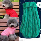 New Dog Cat Pet Winter Sweater Knitwear Puppy Clothing Warm Apparel Coat Clothes