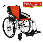 """Excel  G-LOGIC  Self Propelled Wheelchair  (16"""" Wide Seat) WHITE Frame"""