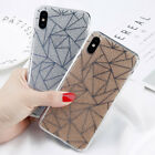 Luxury Thin Shockproof Bling Glitter Hard Case Cover For iPhone X 8 7 6S Plus 5S