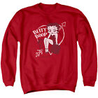 BETTY BOOP LOVER GIRL Licensed Adult Pullover Crewneck Sweatshirt SM-3XL $33.96 USD on eBay