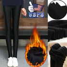 Winter Girl Women Thermal Thick Warm Lined Fur Tight Pencil Leggings Pants Hot