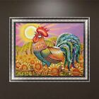 Rooster DIY 5D Diamond Painting Embroidery Cross Stitch Home Decor Craft Gift