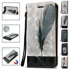 Card Wallet Shockproof Hybrid Stand Flip Case Cover For Samsung Galaxy Phones