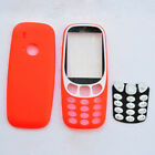 New Full Housing Face Frame Battery Cover Case with Keyboard For Nokia 3310