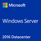 Genuine Microsoft Windows Server 2016 Standard or Datacenter (w RDS Addon)