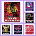NHL Licensed Fade Away Soft Fleece Plush Afghan Throw Blanket - Choose Your Team
