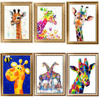 Внешний вид - Giraffe 5D Diamond Painting DIY Embroidery Cross Stitch Home Decor Needlework
