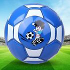 Size 2 Standard PU Leather Soccer Ball Training Football With Net Needle ZQ
