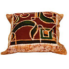 Cotton Square Set Of 5 Hand Wax Batik Paint Cushion Cover Throw Pillow Case 16""