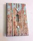Light Switch Plate Cover Beach Washed Wood 0941