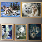 Внешний вид - Wolf 5D Diamond Painting DIY Embroidery Cross Stitch Home Decor Needlework Craft